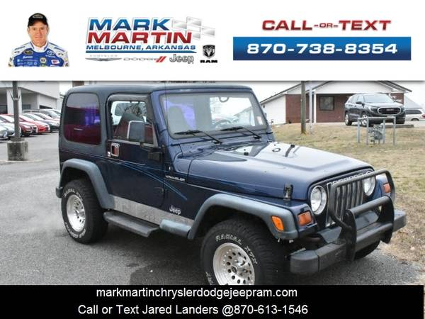 Photo 1997 Jeep Wrangler - Down Payment As Low As $99