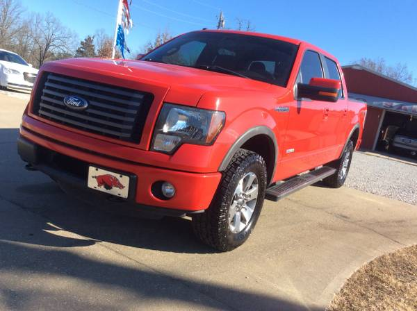 Photo 2011 FORD F150 FX4 SUPER CREW ONE OWNER ARKANSAS - NEW TIRES 3.5 V6 - $15,900 (HARDY, AR.)