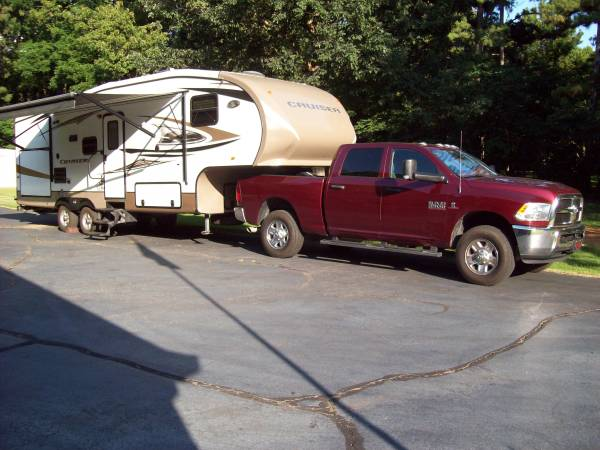 Photo 2012 Cruiser 5th wheel  2018 Dodge Ram 2500 4x4 Diesel (optional) - $17,000 (Hernando)