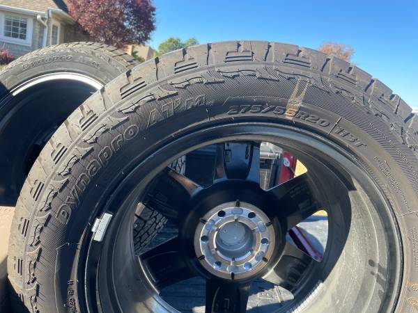 Photo 2020 Ford 20 Rims and Tires - $2,500 (Jonesboro)
