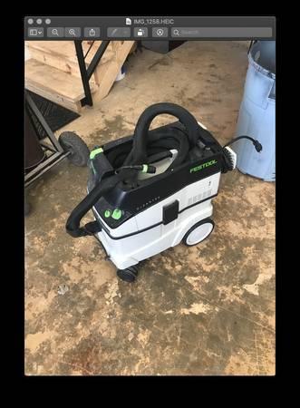 Photo Festool CT36 Dust Extractor - $600