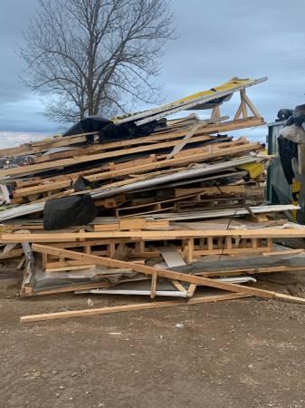 Photo Free Fire Project pallet wood  Jonesboro Cycle and ATV (Jonesboro)