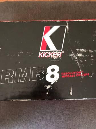 Photo Kicker RMB8 8 Midbass Set NIB And Kicker 12 Comp VR Subwoofer Used - $225