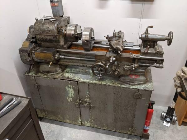 Photo Sheldon 11quot metal lathe with tooling - $1200 (NW Jonesboro)