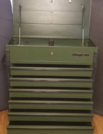 Photo Snap-On model KRSC46HPZR Combat Green Blackout Edition. - $1,500 (Paragould)