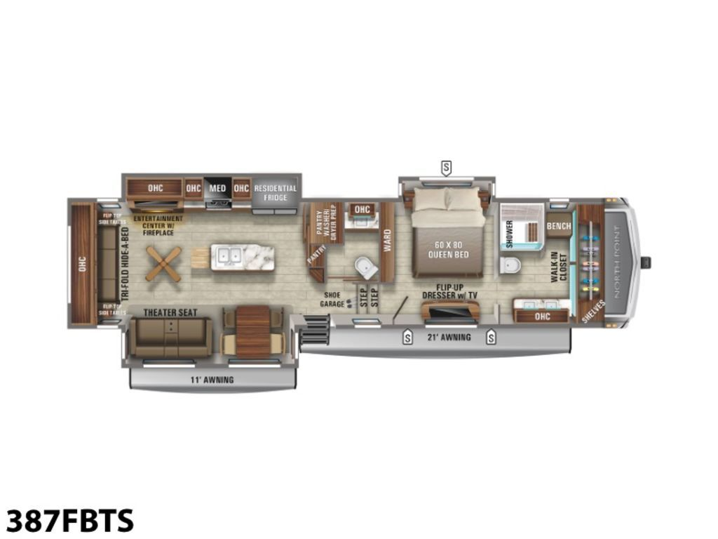 Photo 2021 Jayco North Point 387RDFS $ 76995