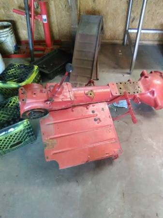 Photo transmission from 1953 farmall cub - $125 (paragould)
