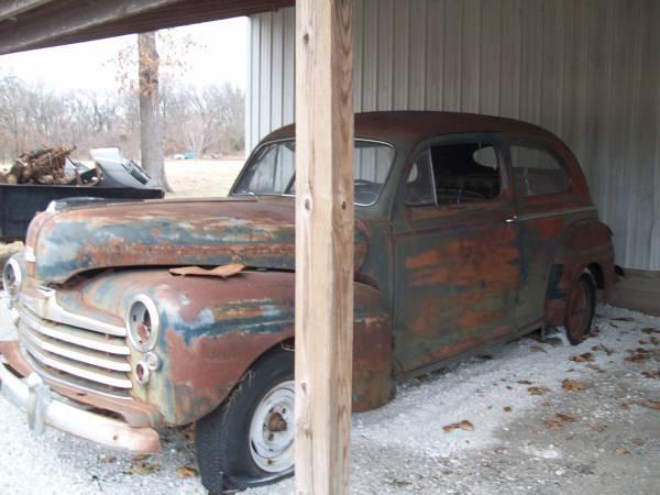 Photo 1947 ford project - $1,500 (joplin)