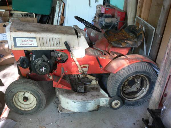 Photo 1965 Sears Lawn  Garden Tractor - $775