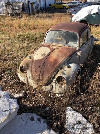 Photo 1968 vw beetle parts car - $250 (Joplin)