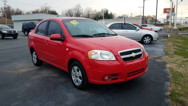 Photo 2007 Chevy Aveo, Bad Credit We Can Get You In A Vehicle (www.bestbuyherejoplin.com)