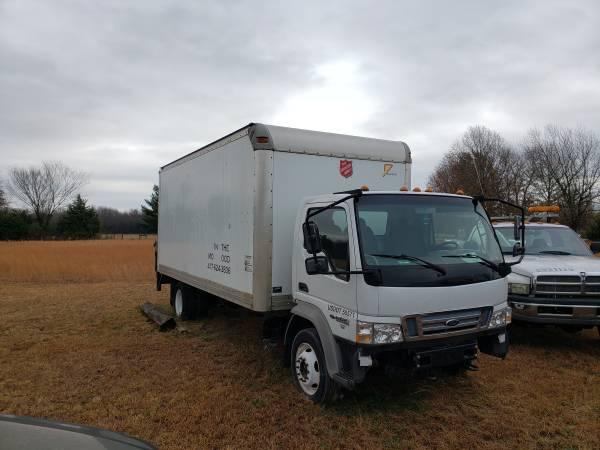 Photo 2007 Ford Diesel Box Van - $2,000 (Joplin)