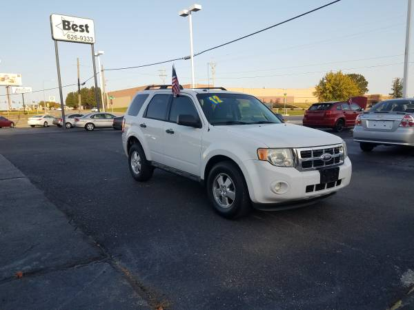 Photo 2012 Ford Escape, Low On Down Payment Money We Can Help With That (www.bestbuyherejoplin.com)