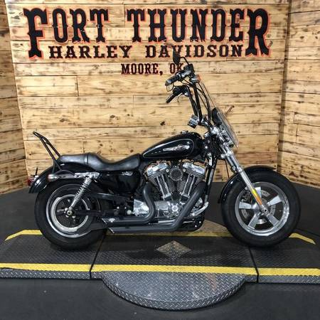 Photo 2013 Harley-Davidson Sportster 1200 Custom - $9,499 (Tulsa)