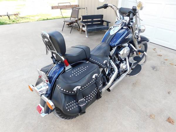 Photo 2013 Harley Davidson Heritage Softail Classic - $14,000 (Miami,Ok)