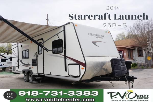 Photo 2014 Starcraft Launch Half-ton Towable Easy Financing - $16,999 (Tulsa)