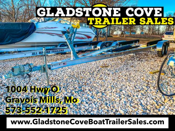 Photo 2021 All Marine 23-25 Tandem Axle Boat Trailer - $4,750 (Laurie)