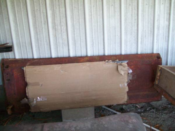 Photo 40-41 ford pickup bed sides and front panel - $350 (joplin)