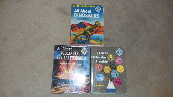 Photo 5039s Vintage All About Books - $15 (Springfield)