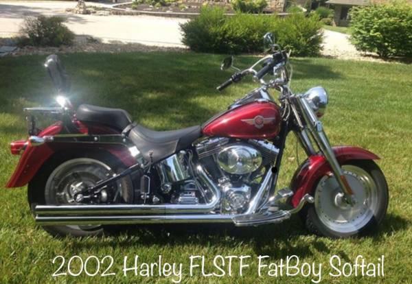 Photo Harley Davidson 2002 Fatboy - $6,500 (Lake Ozark)