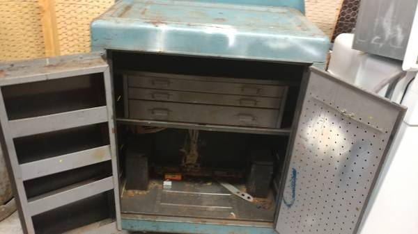 Photo Metal Tool Box with Rollers - $125 (Carthage, MO)