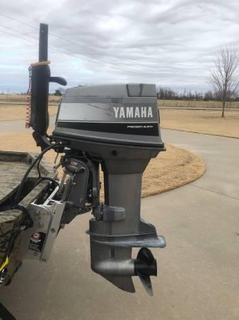 Photo Yamaha 70 HP Tiller Handle Longshaft Outboard Boat Motor - $2850 (Springdale)