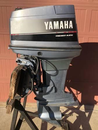 Photo Yamaha 90 Longshaft Outboard Boat Motor - $2975 (Springdale)