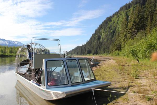Photo 20 Foot 2012 Alumitech Airboat and Trailer Model 820 AGS MAKE OFFER - $50000 (Auke Bay)