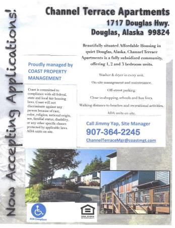 Photo Affordable Housing - Channel Terrace Apartments (Douglas, Alaska) (Douglas, AK)