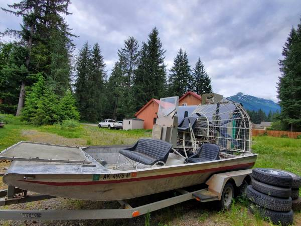 Photo Alumitech Air Boat - $12,200 (Juneau)