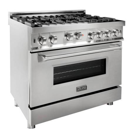 Photo BRAND NEW  Z-LINE 36quot PROFESSIONAL GAS RANGE IN STAINLESS STEEL - $2,249 (SMART BUY -  END OF THE YEAR SALE - $650 INSTANT REBATE)