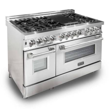 Photo BRAND NEW  Z-LINE 48quot PROFESSIONAL DUAL FUEL RANGE IN STAINLESS STEEL - $4,199 ( END OF THE YEAR SALE - INSTANT REBATE - FREE SHIPPING)