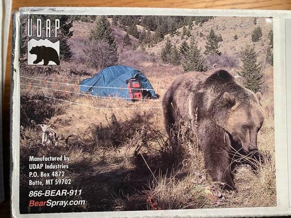 Photo Bear Shock Ultra Lightweight Bear Electric Fence - $150 (Juneau)