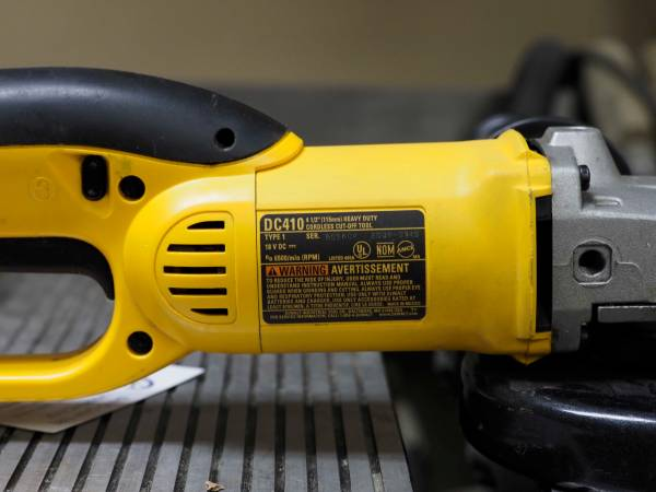 Photo Dewalt 18v Cut-Off Tool - $40 (Douglas)