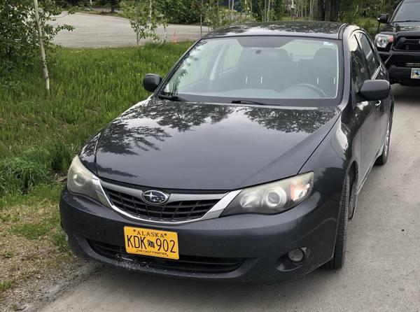 Photo Manual Subaru Impreza Hatchback (new clutch, head gasket) for Sale - $8895 (Juneau)