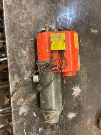 Photo Propane powered heater - $35 (Valley)