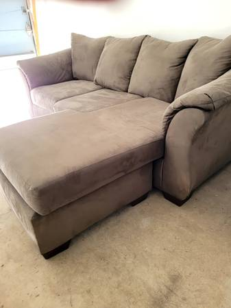 Photo Red Hot Deal Ashly Furniture Sofa, Like New over half off - $325 (Juneau)