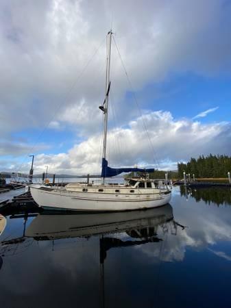 Photo Tayana 3739 Pilothouse Cutter Sailboat - $37,000 (Hydaburg)