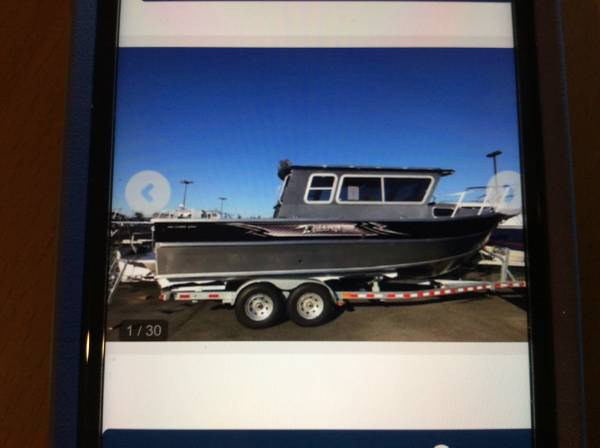 Photo WTB 24 Aluminum Boat - $100,000 (Southeast Alaska)