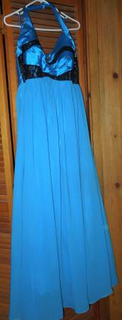 Photo Womans cobalt blue formal dress - $150 (Mendenhall valley)