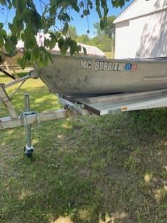 Photo 12 ft Meyers Aluminum Boat - $1,500 (Stockbridge)