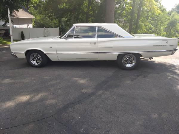 Photo 1967 Dodge Coronet 440 - $17500 (Pleasant Lake)