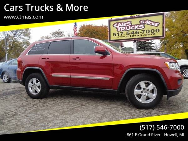 Photo 2011 Jeep Grand Cherokee Laredo - $12388 (517-546-7000 Cars Trucks  More Howell MI)