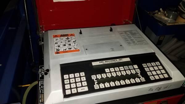 Photo AMI Arc Machines Inc 207A Power Source wAMI Chiller, 5 AMI Weld Heads (Jackson)