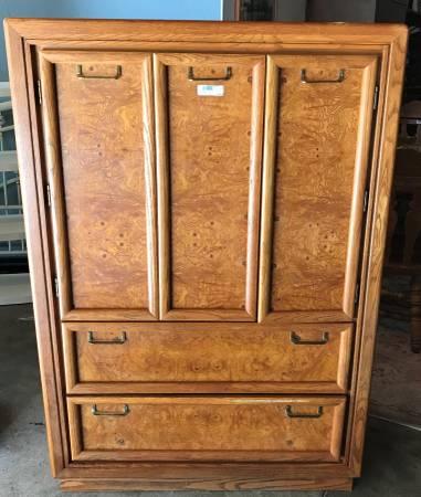 Photo Armoire Dresser - $200 (Jackson,MI)