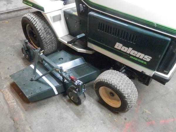 Photo Bolens-DGT-1700-Diesel,,60Inch Deck--LIKE NEW - $2500 (Hudson)