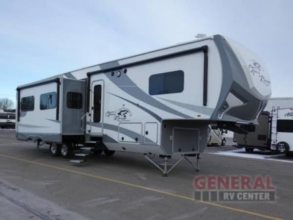 Photo Fifth Wheel 2018 Highland Ridge RV Open Range Roamer RF374BHS - $49,998
