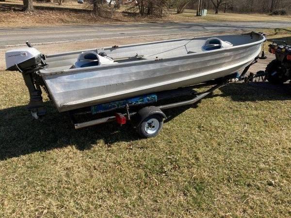 Photo Fishing Boat - 1439 Sea Nymph - $1,200 (Napoleon Twp. (Jackson) MI)