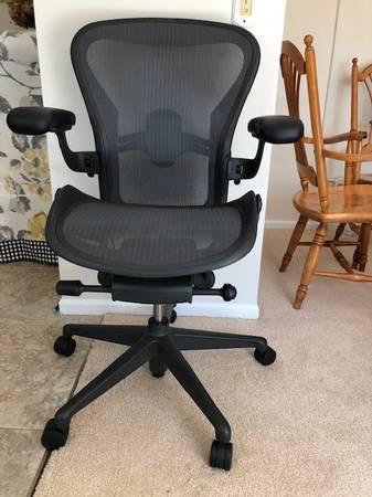 Photo Herman Miller Aeron Task Chair Remastered Version - $495 (Charlotte)