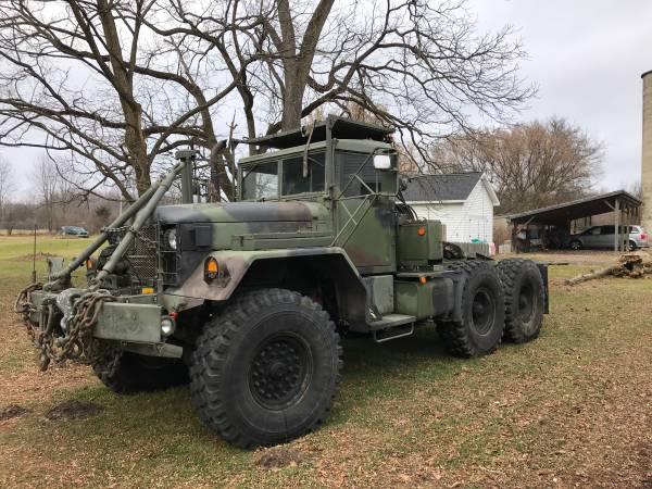 Photo JEEP 4X4 MILITARY TRUCK M52A2 WINCH INTERNATIONAL HARVESTOR IH TRACTOR - $8000 (Jackson)
